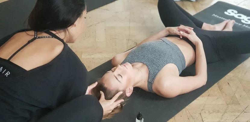 masáž na podložce